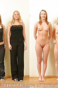 Clothed and nude 81 - Pretty Girls